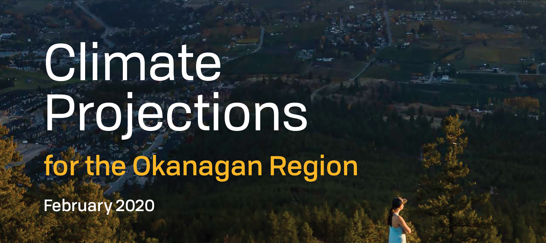 Okanagan Climate Projections Report Cover